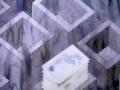 Henk Puts, bakken met papier