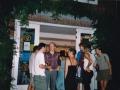 Koos Lina, Sunburn Party, publiek buiten,